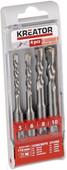 Kreator SDS-Plus bore set 4-parts 5-6-8-10x110mm