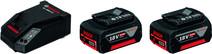 Bosch Battery Charger + Battery 18V 6,0 Ah Li-Ion (2x)