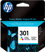 HP 301 Cartridge 3-Kleuren Pack (CH562EE)