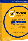 Norton Security Deluxe 2019 | 5 appareils | Abonnement 1 an