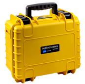 B & W type 3000 yellow with picking foam