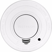 Alecto SA-19/1 Smoke Detector with time-out button
