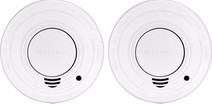 Alecto SA-19/1 Smoke Detector 2 units with time-out button