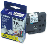 Brother TZ-241 Label Black on White (18 mm x 8 m)