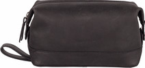 Burkely Vintage Riley Toiletry bag - Zwart