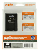 Jupio Kit : Batterie NP-BX1 (2x) + Chargeur USB Double