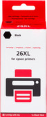 Pixeljet 26 XL (T2621)  Black for Epson printers (C13T26214010)