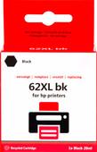 Pixeljet 62XL Zwart voor HP printers (C2P05AE)