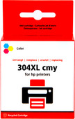 Pixeljet 304XL 3-color Pack for HP printers