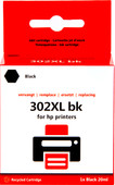 Pixeljet 302 Zwart XL voor HP printers (F6U68AE)