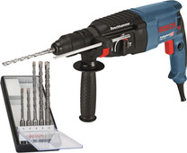 Bosch GBH 2-26 F + SDS-plus drill set