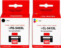 Pixeljet 540/541XL 4-Color Pack for Canon printers (5225B006)