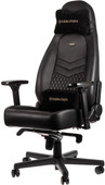 Noblechairs ICON Genuine Leather Gaming Chair Black