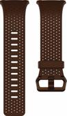 Fitbit Ionic Bracelet de Montre en Cuir Brun S
