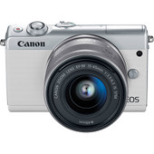Canon EOS M100 Blanc + 15-45 mm IS STM