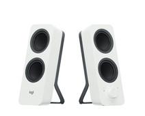 Logitech Z207 Haut-parleurs Bluetooth PC - Blanc