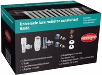 Best Design Universele Luxe Radiatoraansluitset Haaks