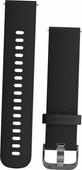 Garmin Vivoactive 3 Siliconen Polsband Zwart/Grijs S