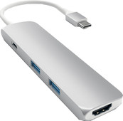 Satechi SLIM TYPE - C Multiport Adapter Silver