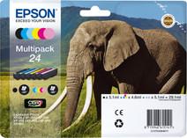Epson 24 Cartouche d'encre 6 Couleurs Multipack C13T24284011