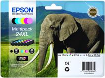Epson 24 XL Cartouche d'encre 6 Couleurs Multipack C13T24384010