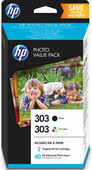 HP 303 4-Color Pack and 40 10x15cm sheets (Z4B62EE)
