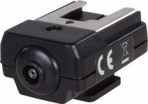 Falcon Eyes Griffe Hotshoe HS-15 + Support de flash + Raccord de trépied