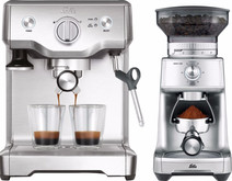 Solis Barista Perfect Pro 118 + Caffissima coffee grinder
