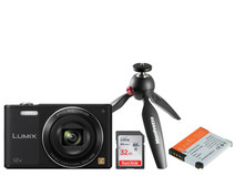 Kit pour vlogger débutant - Panasonic Lumix DMC SZ10 Noir