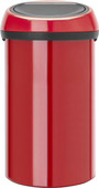 Brabantia Touch Bin 60 Litres Passion Red