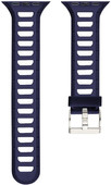 Just in Case Silicone Watchband Apple Watch 38mm Blue / White
