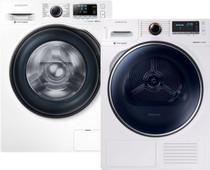 Samsung WW91J6600CW Eco Bubble + Samsung DV80M8214AW/EN
