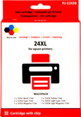 Pixeljet 24XL 6-Color Pack for Epson (C13T24384010)