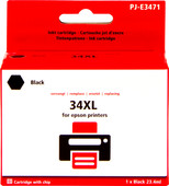 Pixeljet 34XL Black for Epson (C13T34614010)
