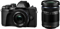 Olympus OM-D E-M10 Mark III Body Black + 14-42mm EZ Black + 40-150mm Black