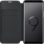 Samsung Galaxy S9 étui LED View Noir