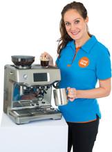 Productspecialist halfautomatische espressomachines