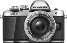 Olympus OM-D E-M10 Mark II Argent + 14-42 mm EZ