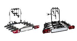 Fietsendragers voor 4 fietsen