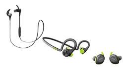 Sport koptelefoons en oordopjes