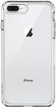 Spigen Ultra Hybrid iPhone 7/8 Plus Back Cover Transparant