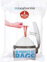 Brabantia Perfectfit Code J - 20-25 Liter (40 stuks)