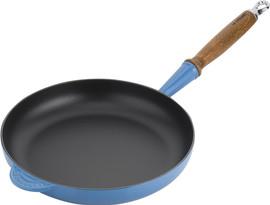 Le Creuset Gietijzeren Koekenpan 28 cm Marseilleblauw