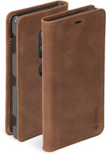 Krusell Sunne Vintage 2 Xperia XZ2 Book Case Bruin