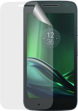 Azuri Motorola Moto C Plus Screenprotector Plastic Duo Pack