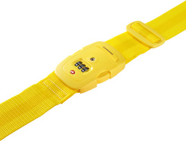 Samsonite Safe US3 Combi Luggage Strap 2 Yellow
