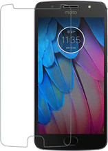 Azuri Moto G5S Screenprotector Gehard Glas Duo Pack