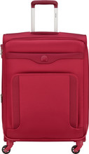 Delsey Baikal 78cm Expandable Trolley Red