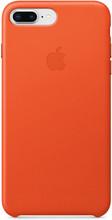 Apple iPhone 7 Plus/8 Plus Leather Back Cover Feloranje