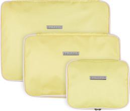SUITSUIT Fabulous Fifties Packing Cube Set (S-M-L) Mango Cre